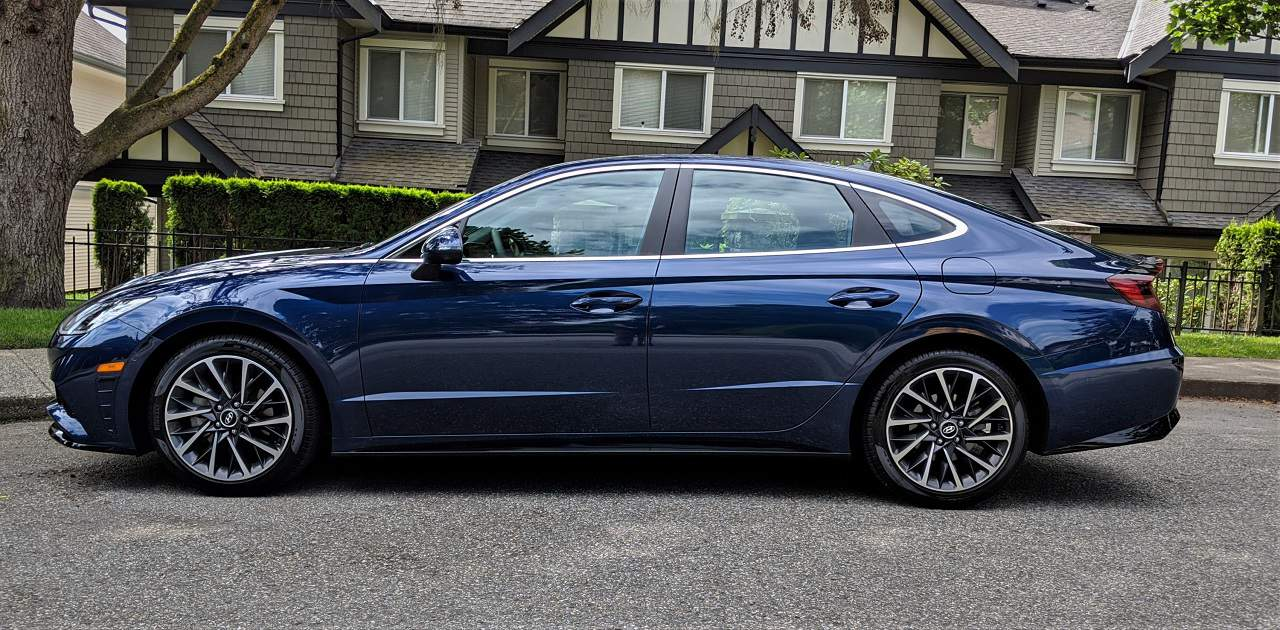 2020 Hyundai Sonata Side profile