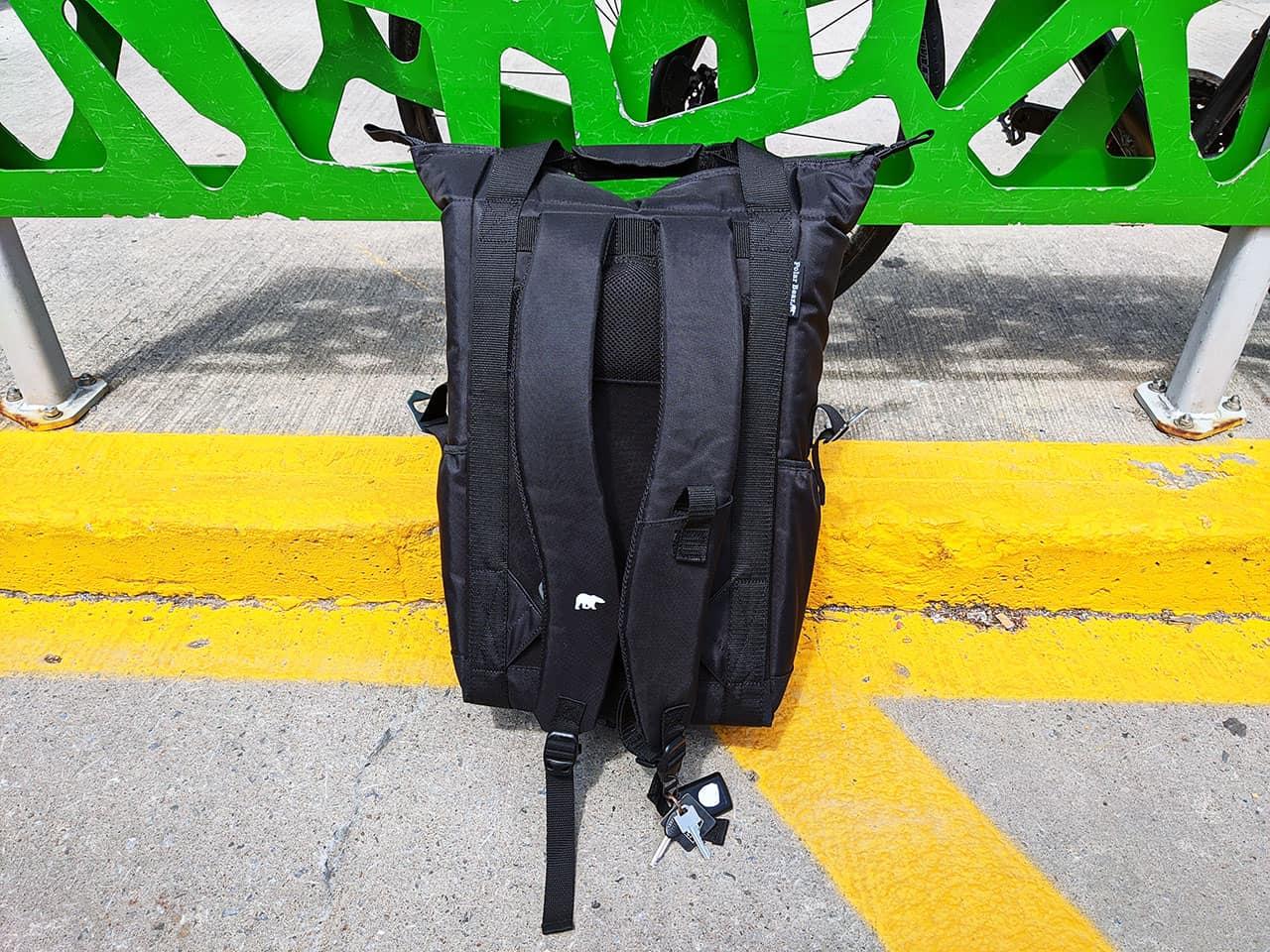nylon polar bear backpack cooler