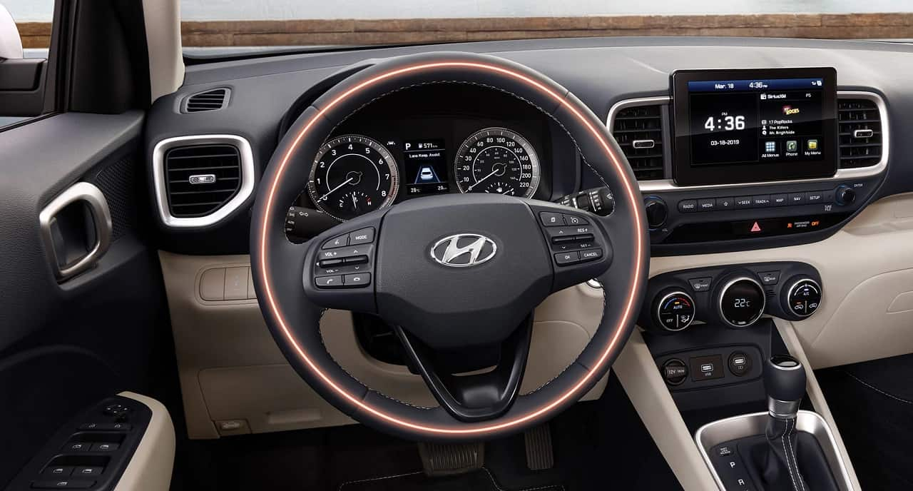 2020 Hyundai Venue Interior