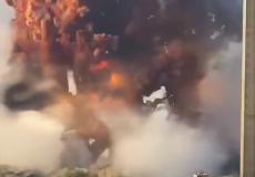 beirut blast huge explosion