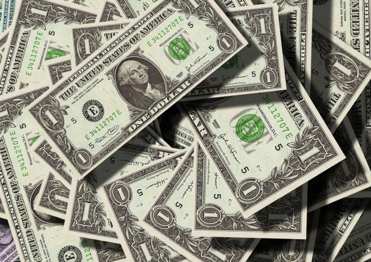 dollars bills