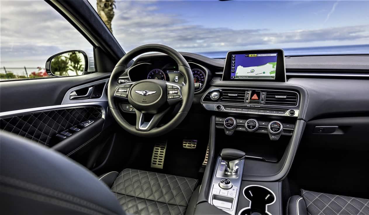 2021 Genesis G70 Interior