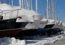 fancy boats in dock