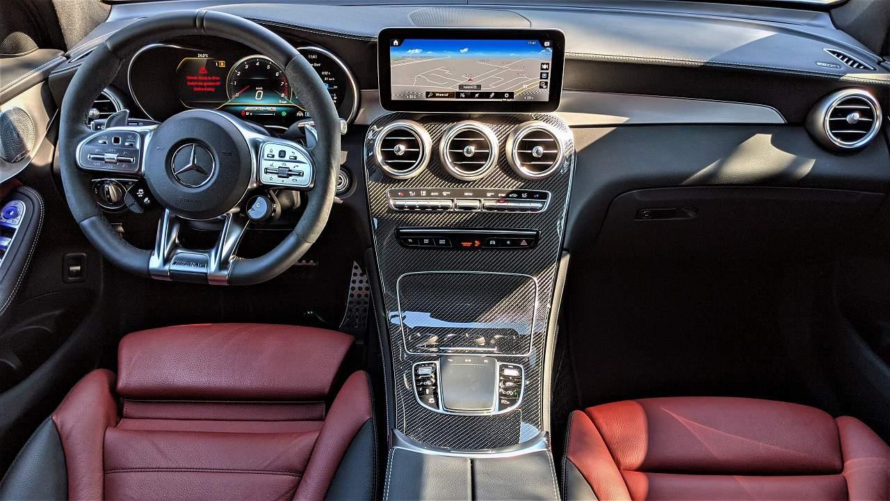 2020 Mercedes AMG GLC 43 Interior