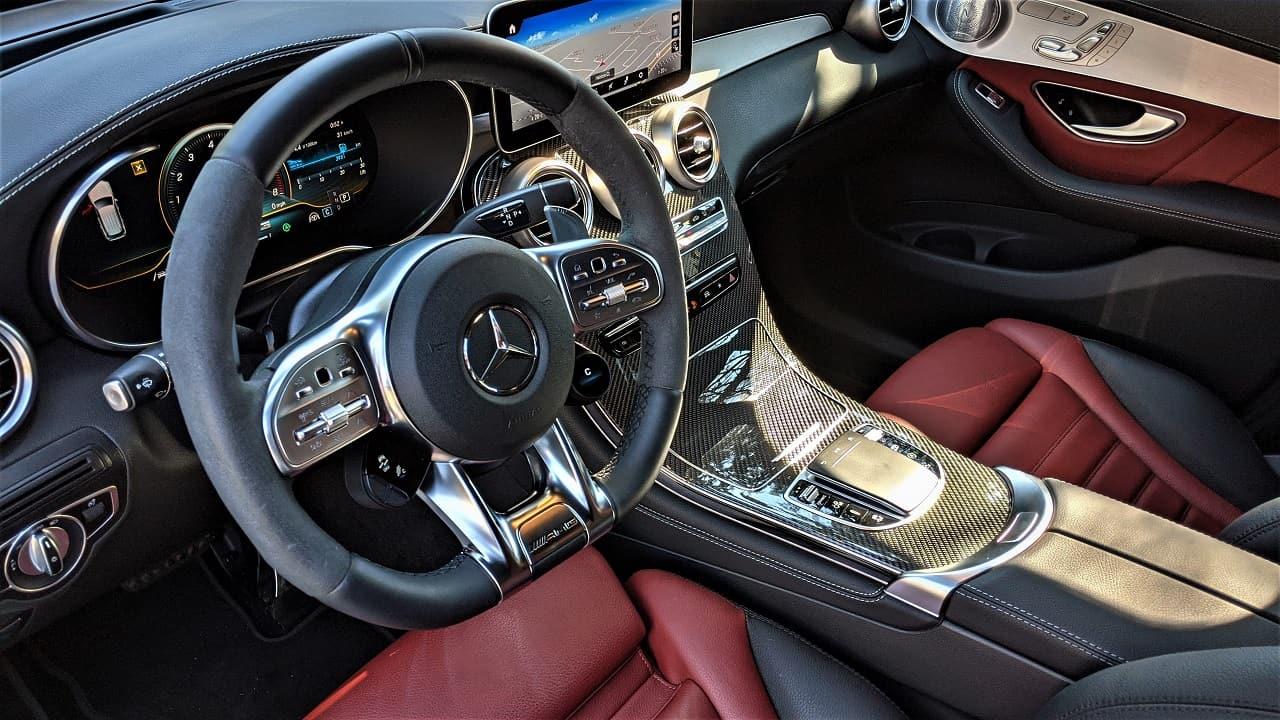 2020 Mercedes AMG GLC 43 interior 2