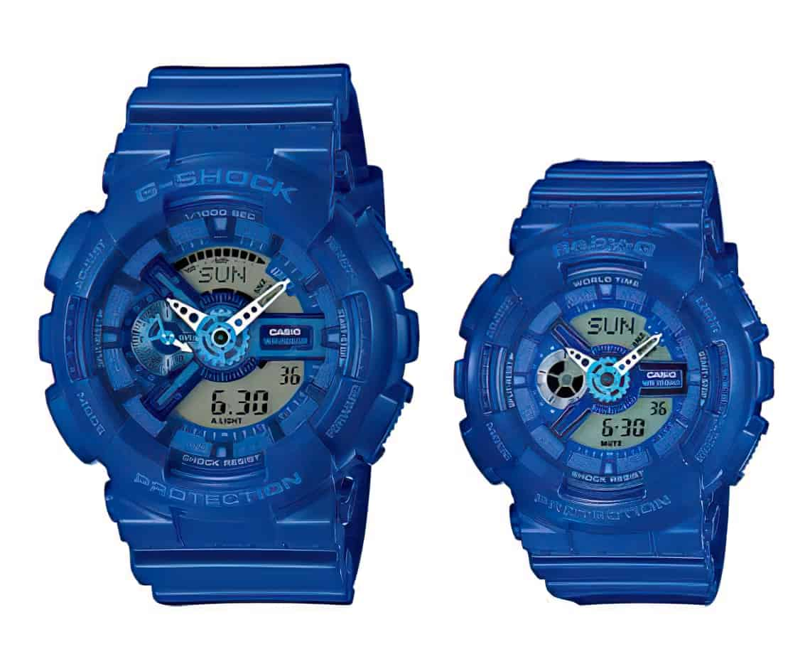 Casio GShock GA110 BabyG BA110 watches 2 enlarged