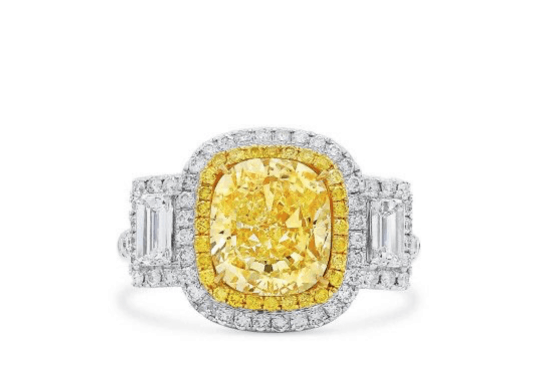 bold yellow diamond ring 1