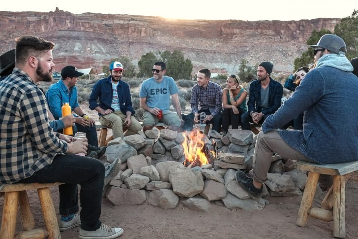 camping friends group