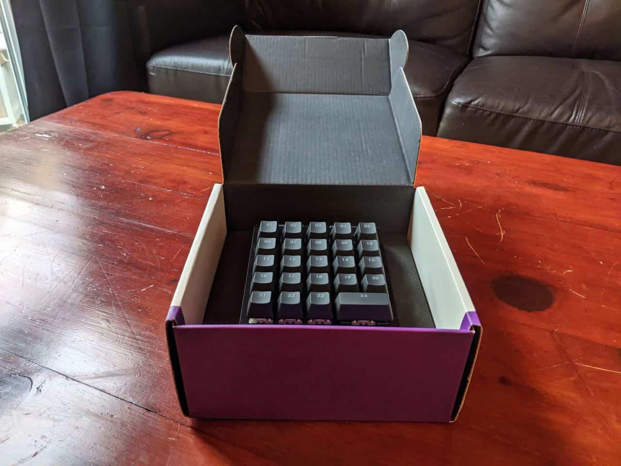 cooler master controlpad open box