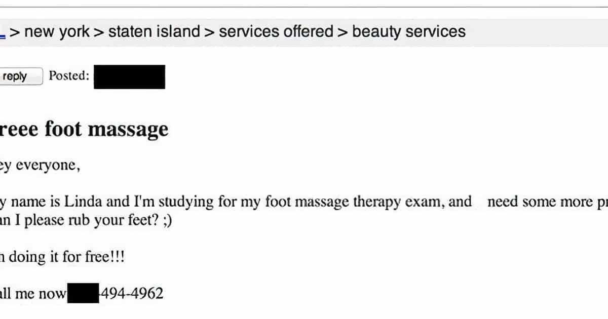 craigslist massage