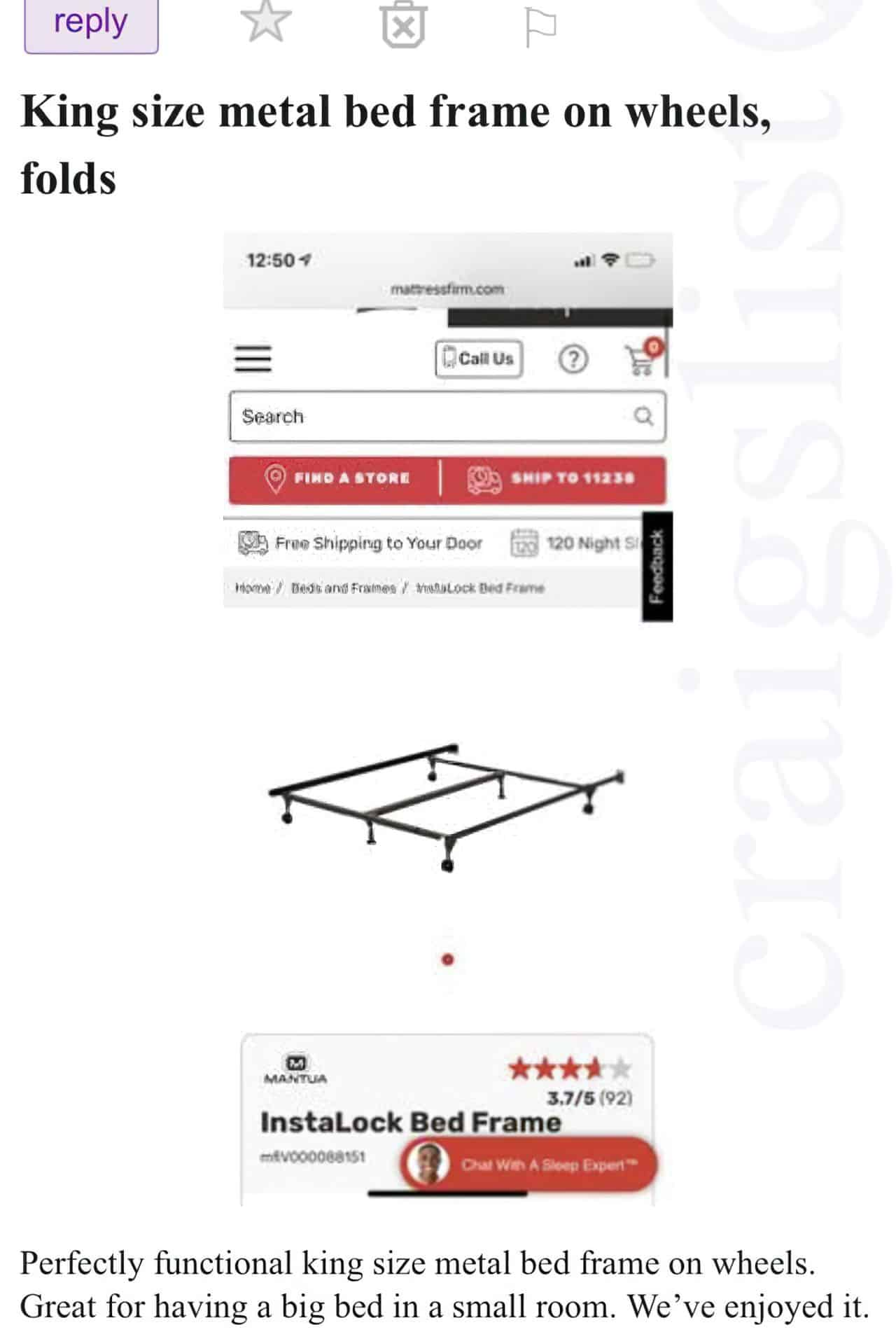 king size metal bed frame enlarged