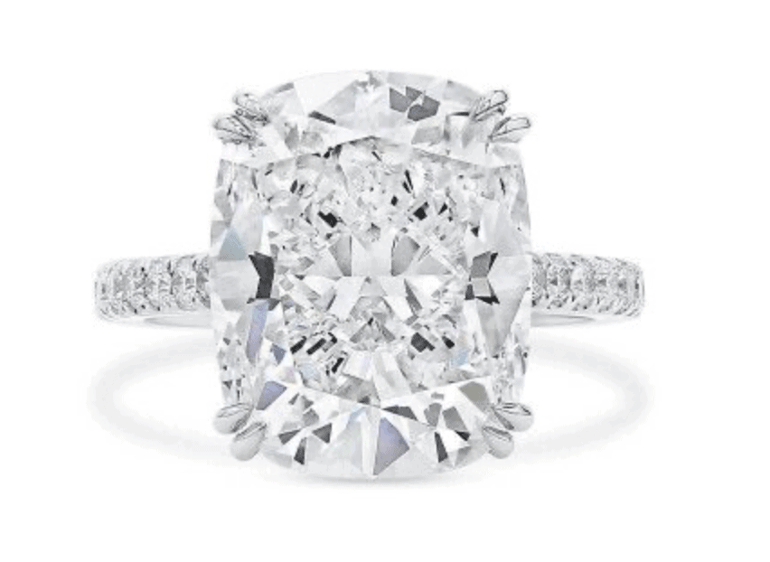pure white diamond ring 2