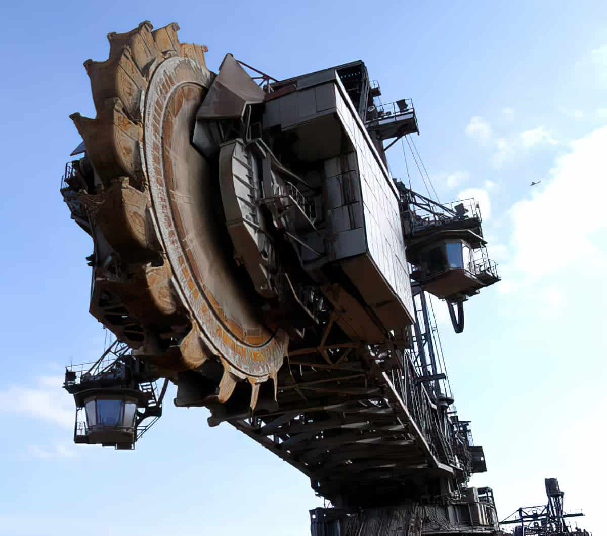 Krupp Bagger 288 Mine Stripper biggest construction vehicles
