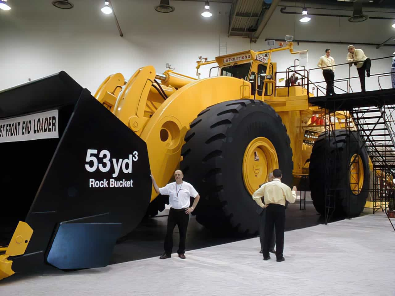 LeTourneau L 2350 Front End Loader enlarged