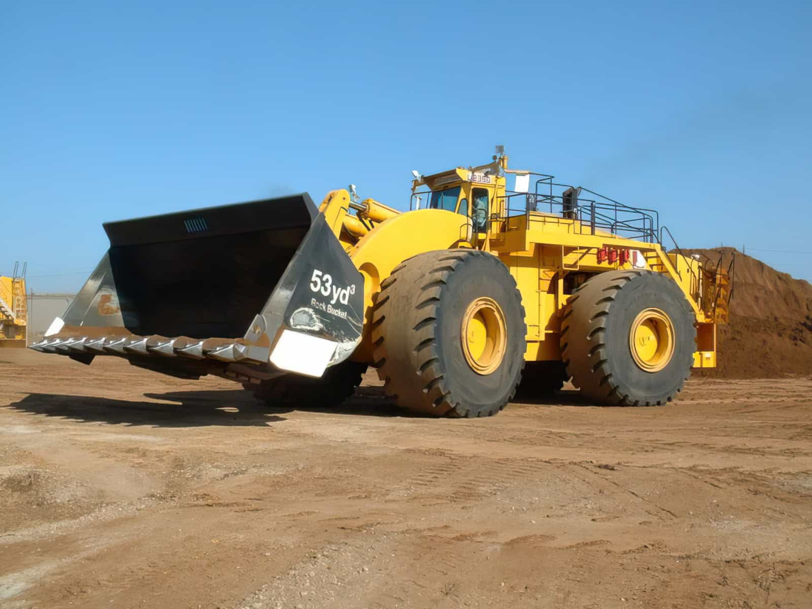 LeTourneau L2350 Front End Loader enlarged
