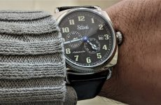 Szanto Automatic Officer Coin Cushion 6201 Watch Review