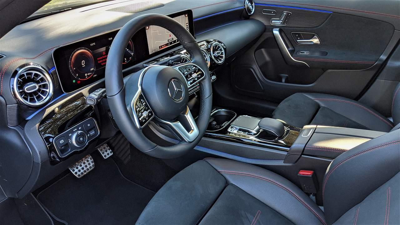 2021 CLA 250 Interior