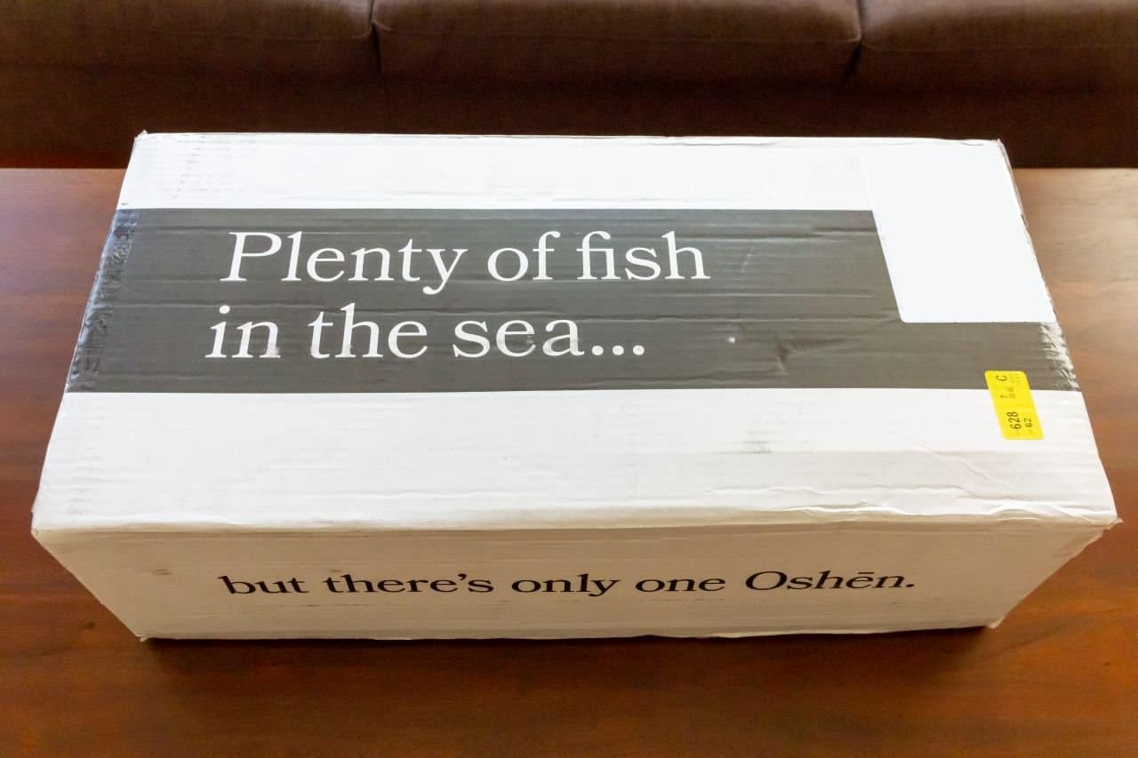 oshen salmon box
