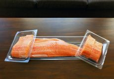 oshen salmon on table