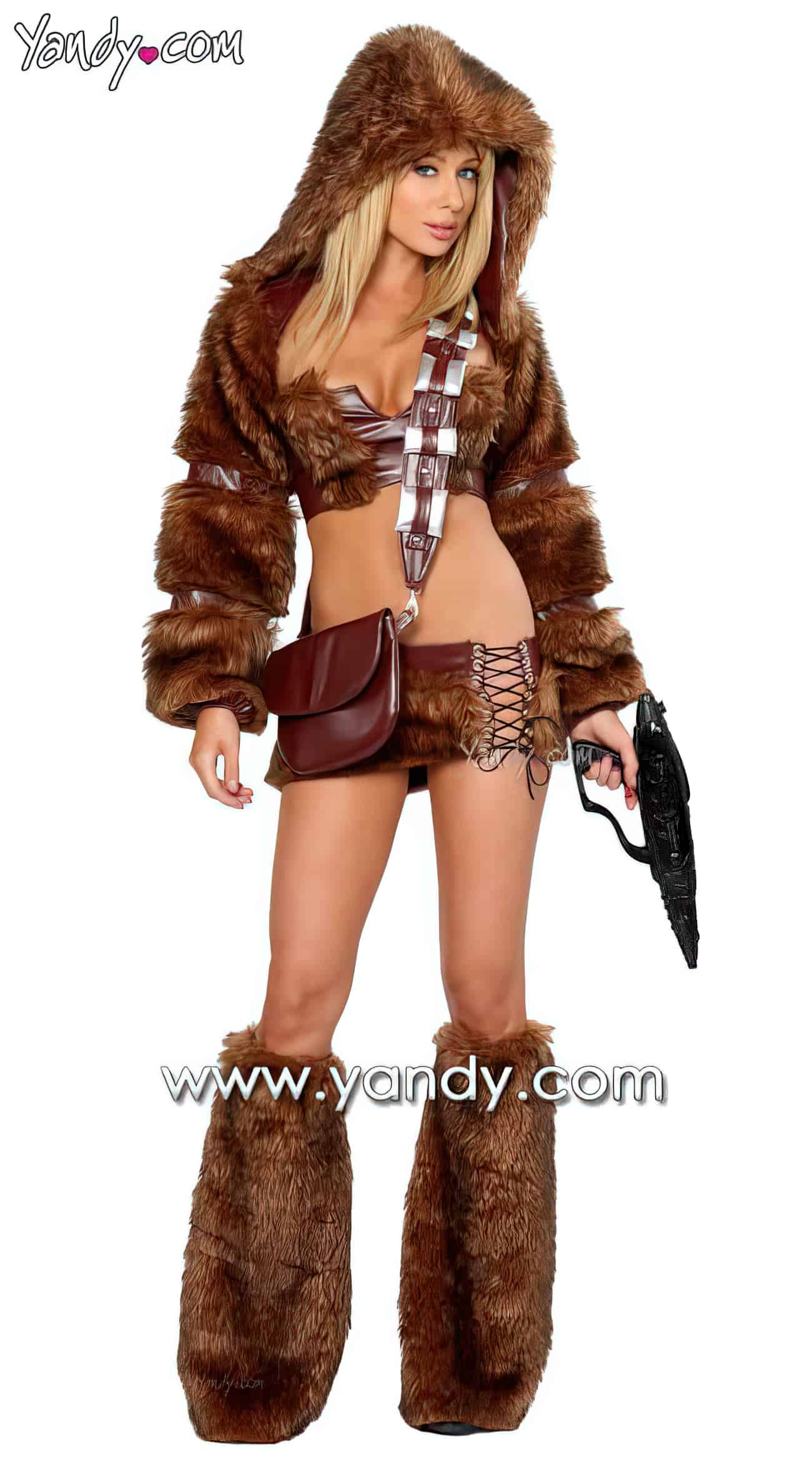 Sexy Chewbacca Costume3 upscaled