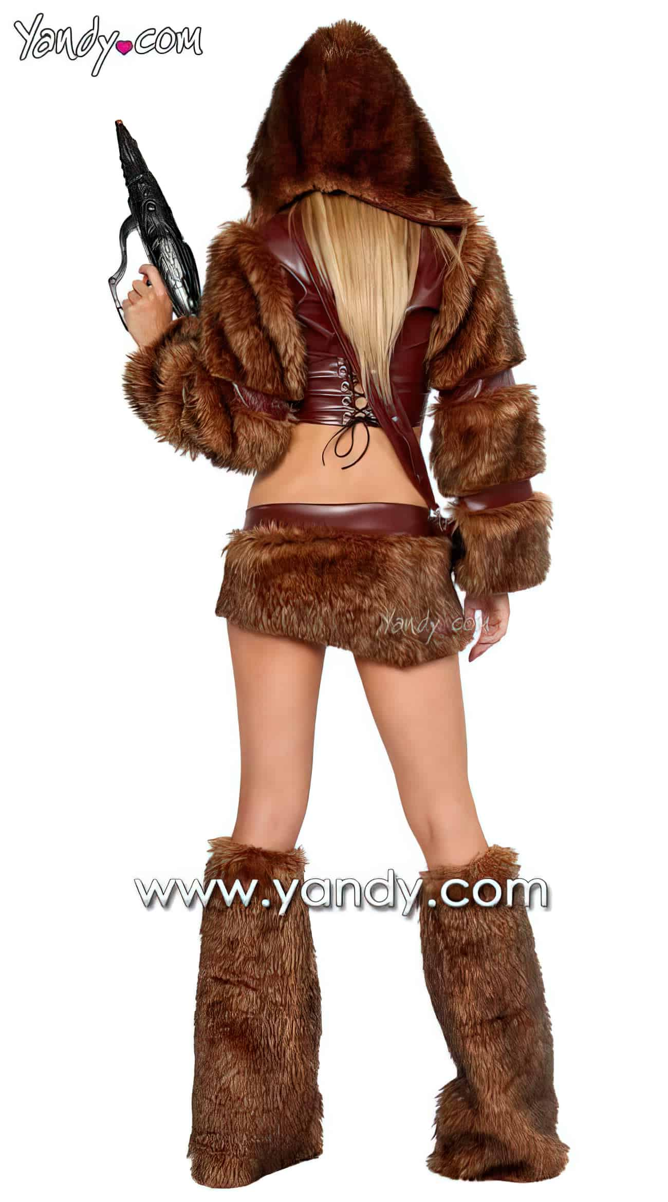 Sexy Chewbacca Costume5 upscaled