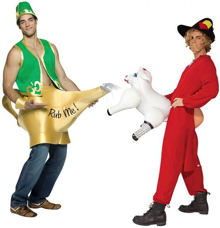 bad rub me genie lamp costume