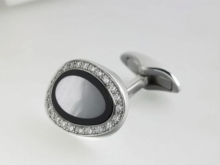 designer diamond cufflinks