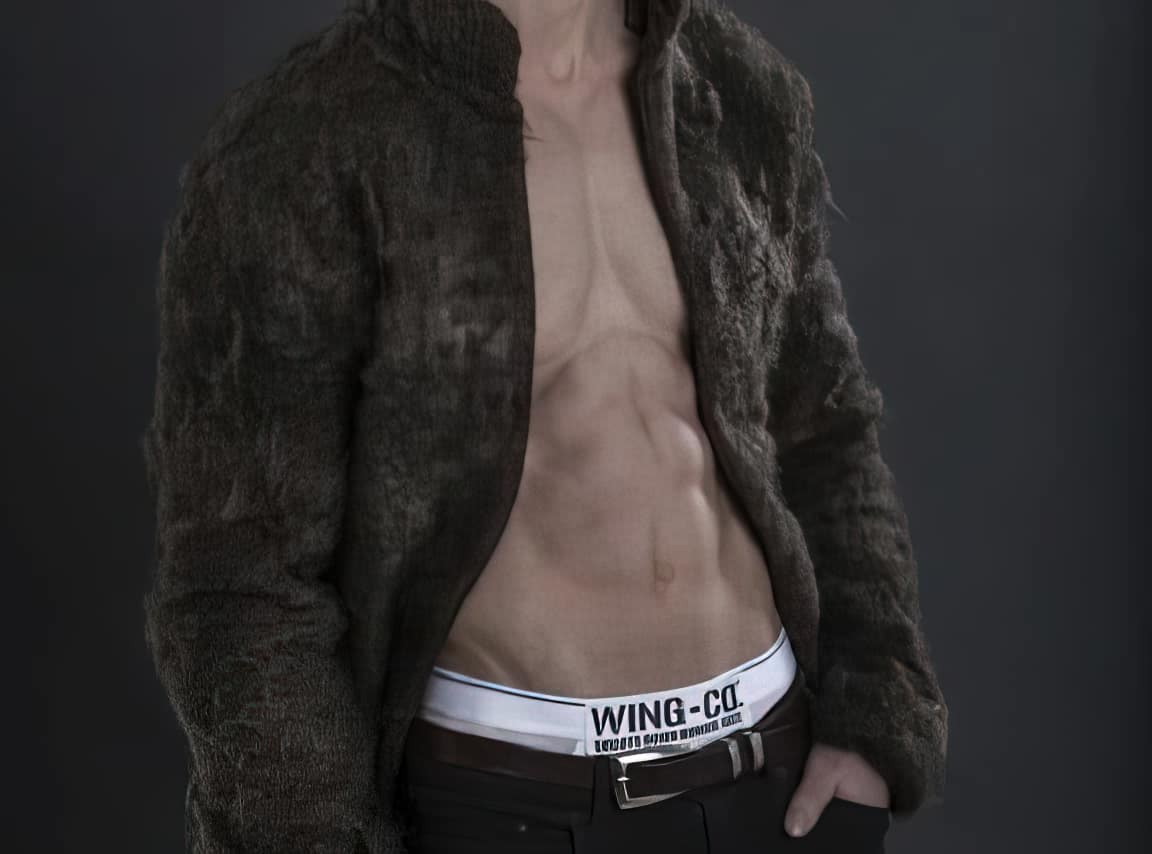 fur coat male chest hair1 upscaled