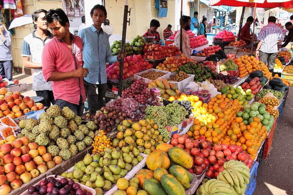 goa fruit market