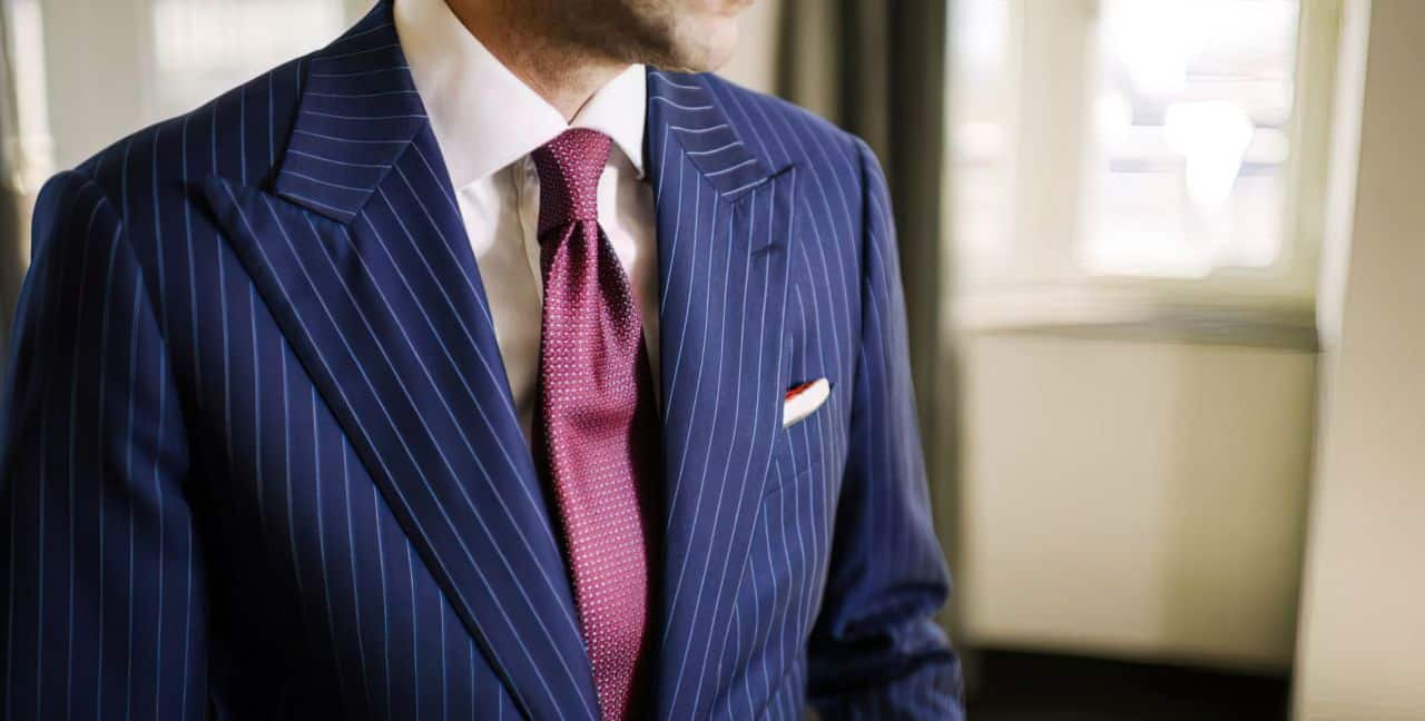 pinstripe bullet proof suit garrison upscaled