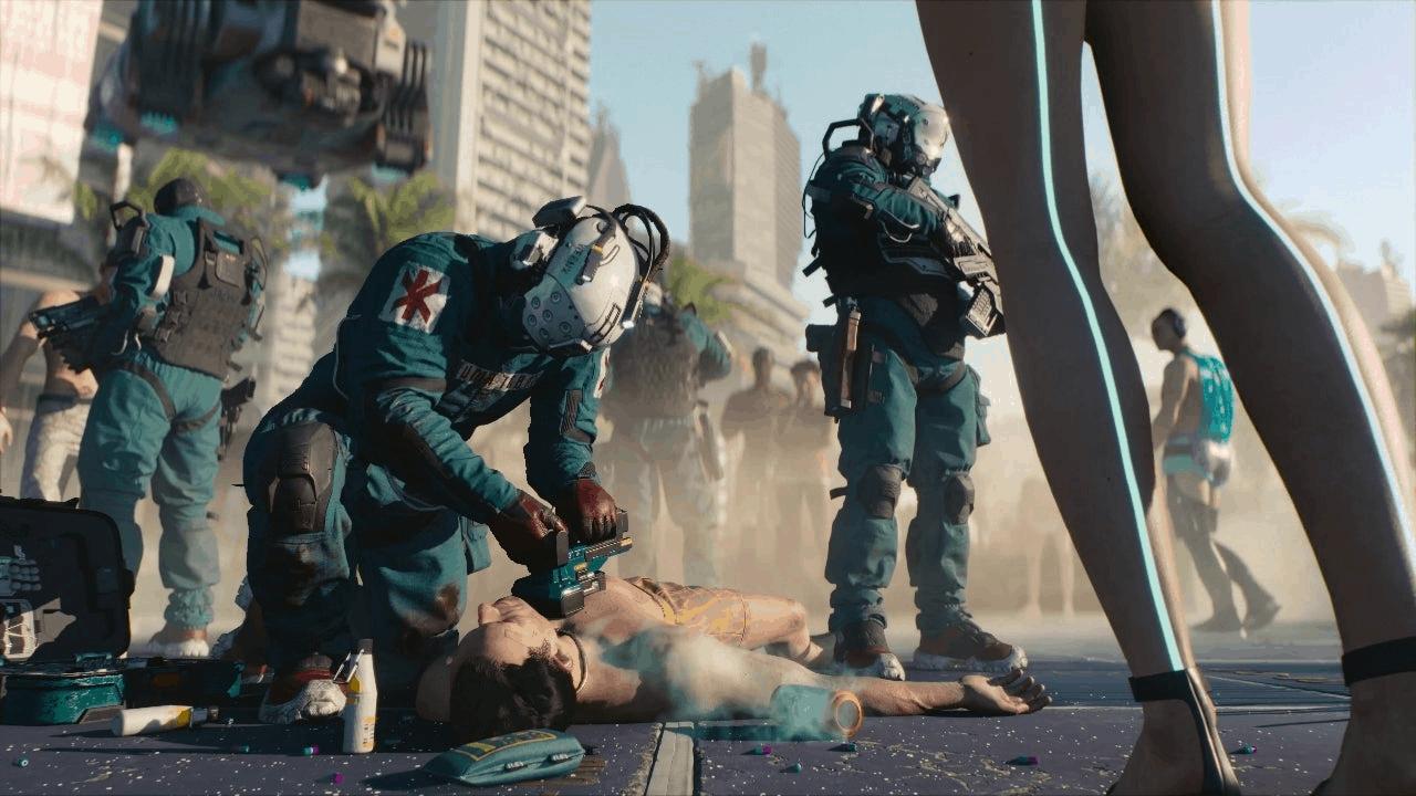 trauma team in cyberpunk