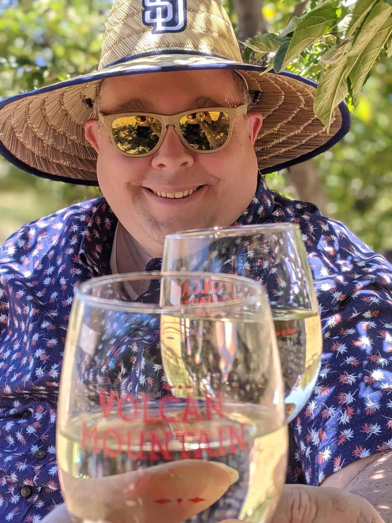 cheers to great wine and sunshine upscaled