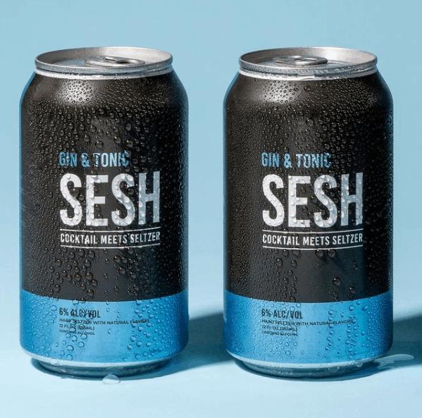 sesh gin and tonic