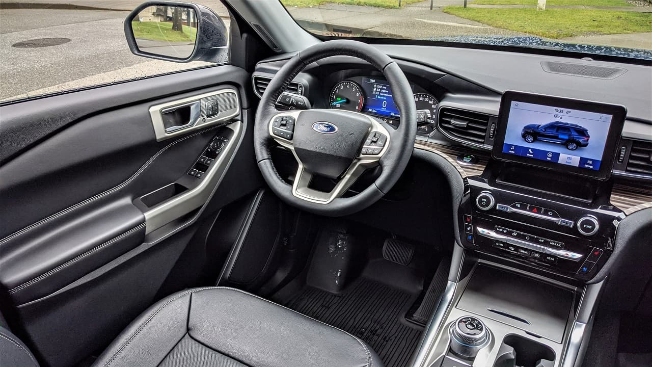 2021 Ford Explorer Limited Interior
