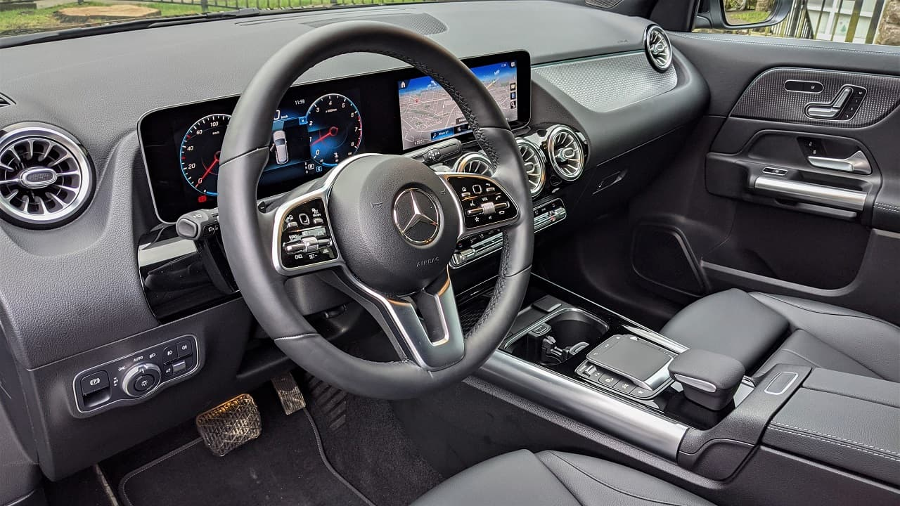 2021 Mercedes Benz GLA 250 Interior