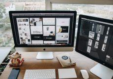 computer design desk