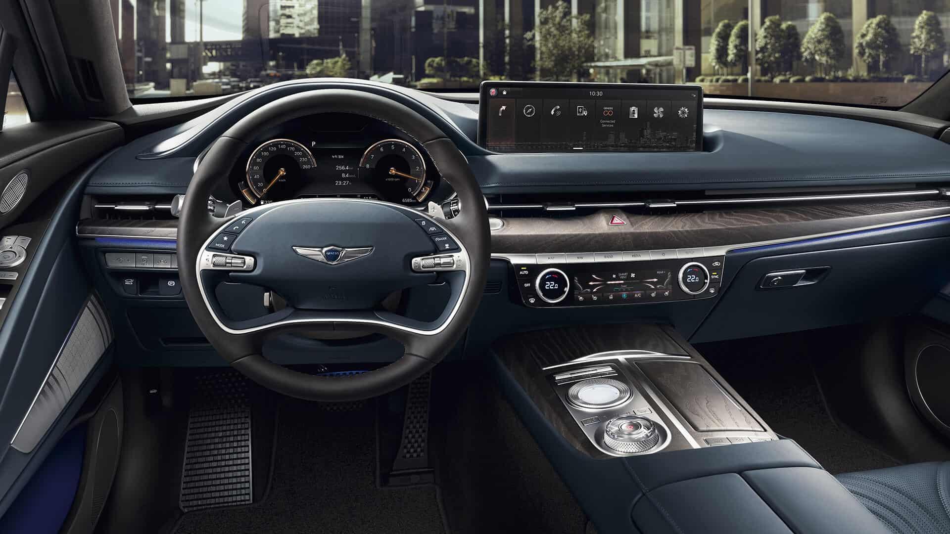 2021 Genesis G80 interior