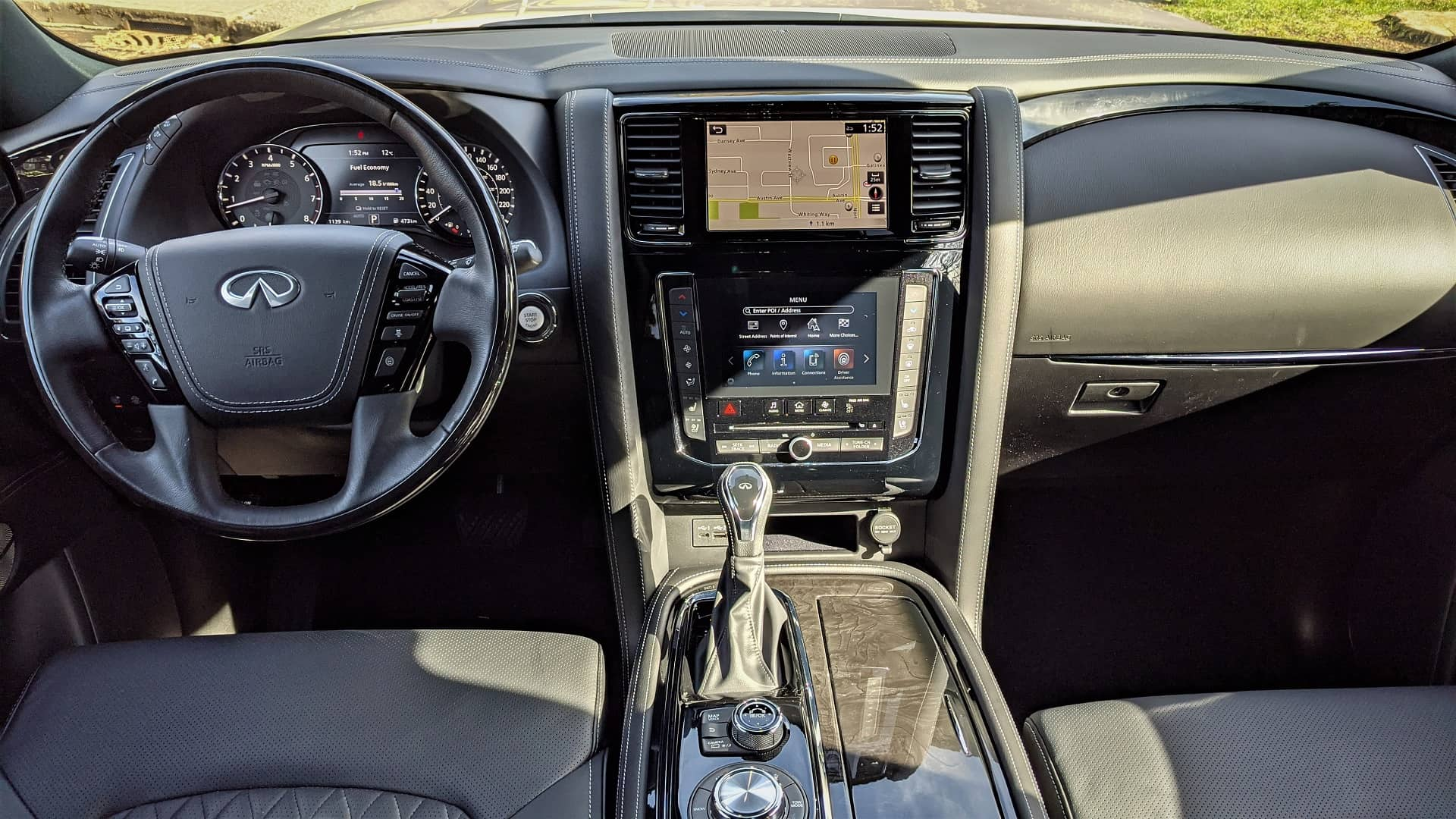 2021 Infiniti QX80 Interior 1