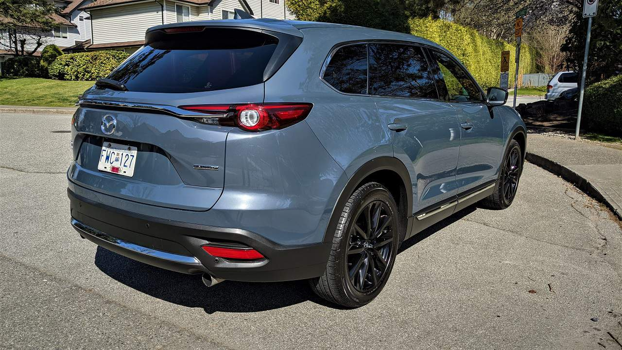 2021 Mazda CX 9 Kuro Edition