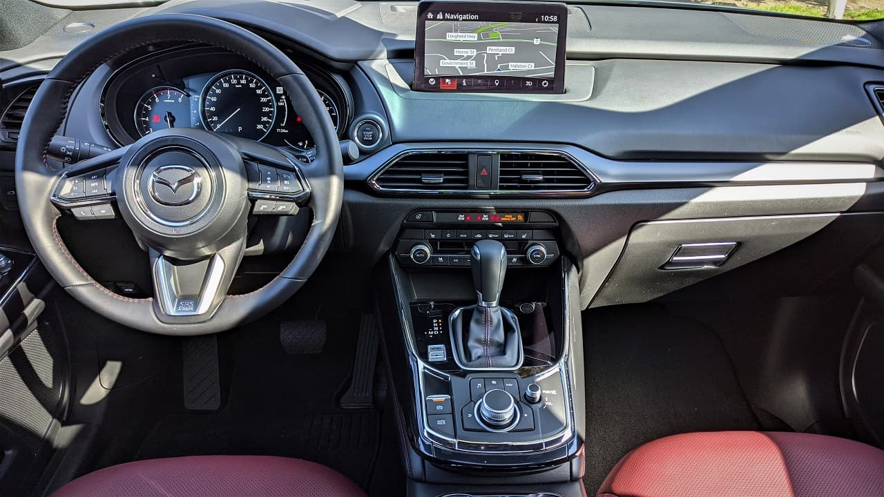 2021 Mazda CX 9 Kuro Interior