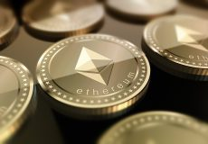 Ethereum Ether Gold Coin