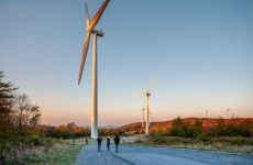 green energy wind turbine upscaled