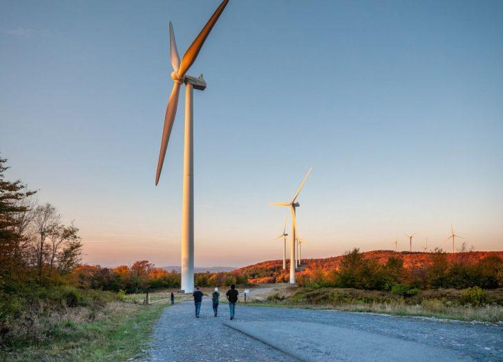 green energy wind turbine upscaled