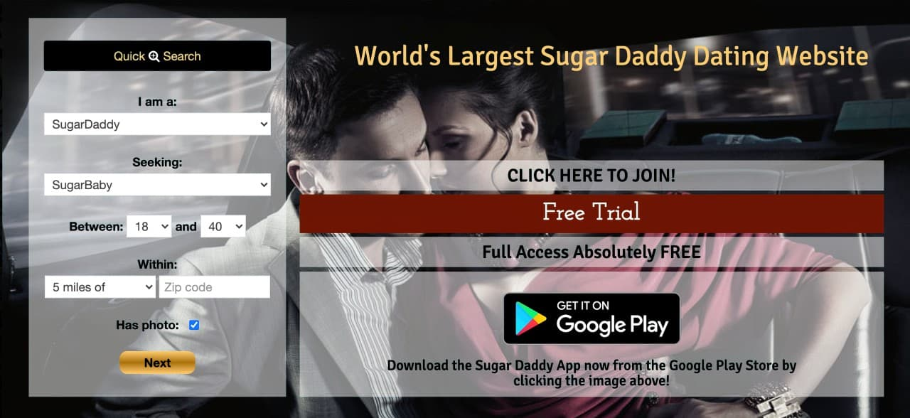 sugar daddy site upscaled