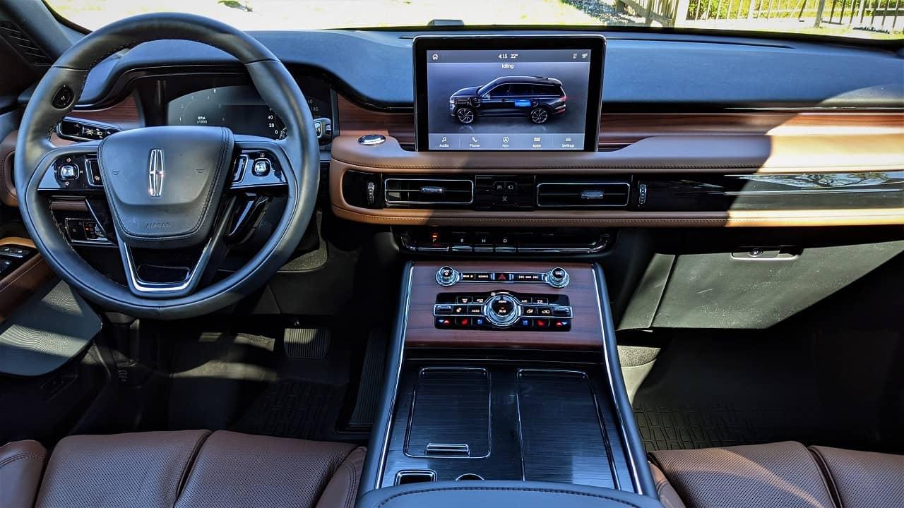 2021 Lincoln Aviator Grand Touring Interior