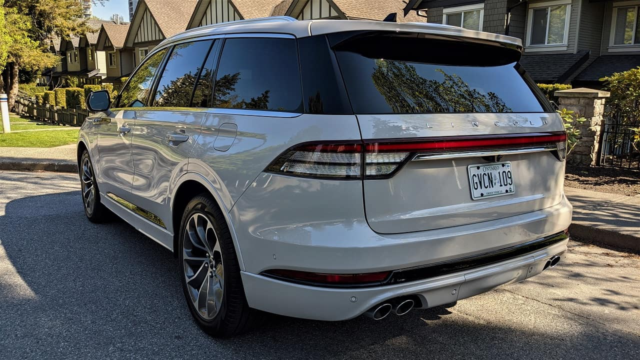 2021 Lincoln Aviator Grand Touring Review