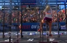 extreme pegging at the crossfit games