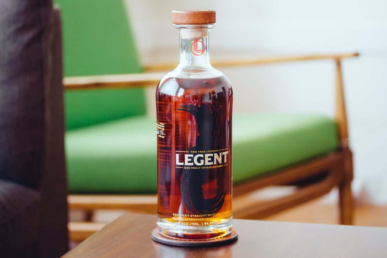 legent bourbon bottle
