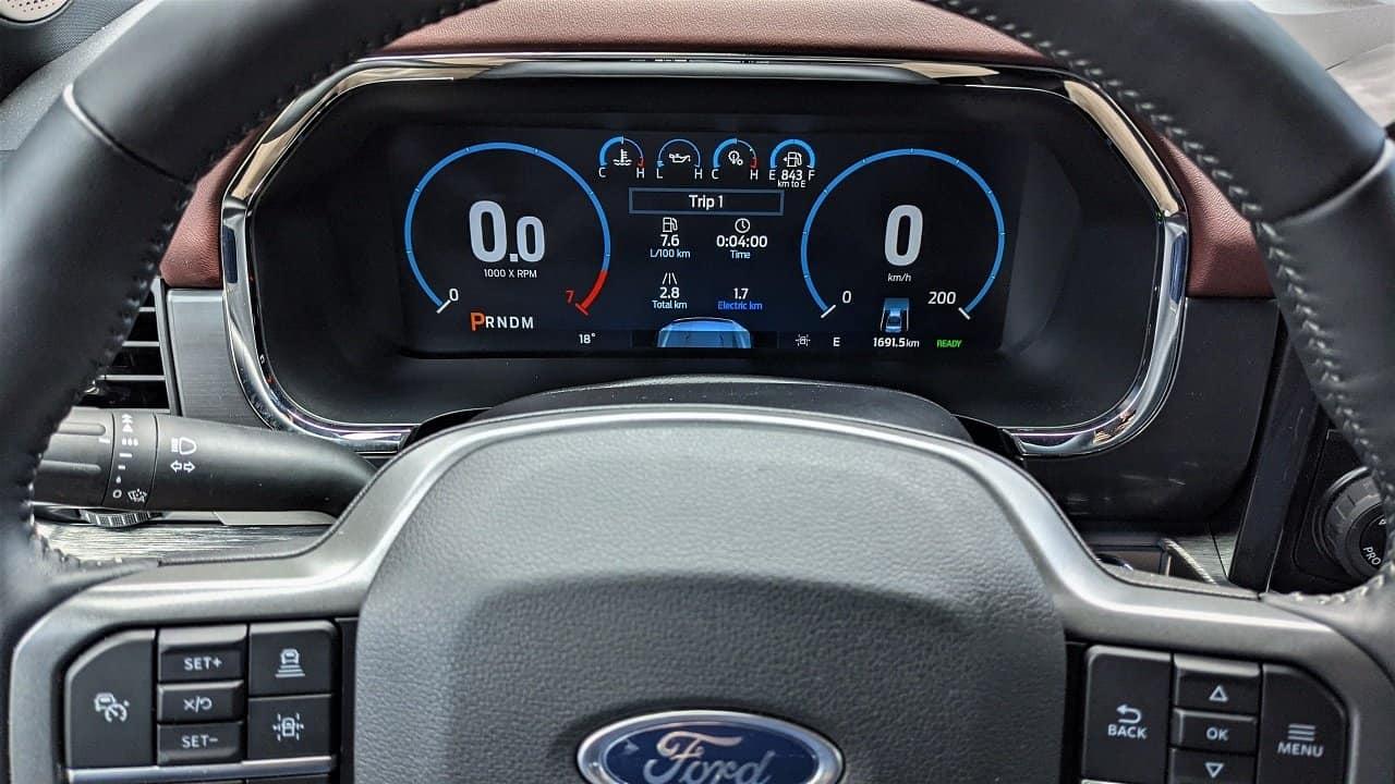 2021 Ford F150 Digital Instrument Cluster