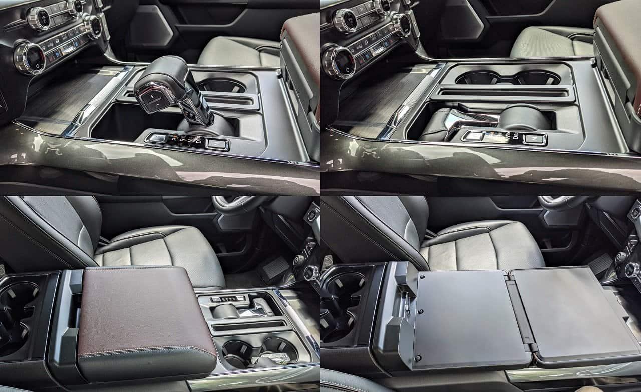 2021 Ford F150 Folding Gear Lever